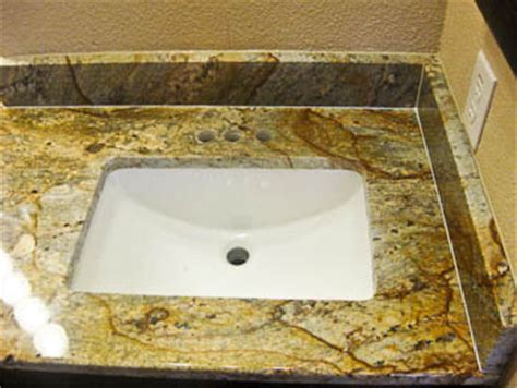 undermount sinks  granite countertops