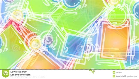 abstract art shapes background stock photo image 2925850