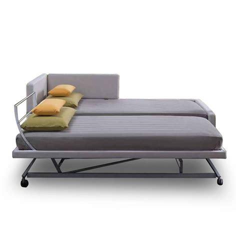 canapé lit de qualité doublez votre espace couchage avec le canapé lit gigogne