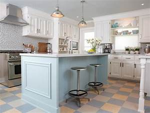 Photo page hgtv for Kitchen colors with white cabinets with 4 murs papier peints