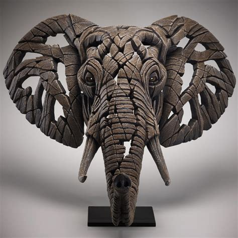 Edge Sculpture Elephant Bust - Artists from Generation ...