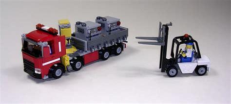 crane truck  forklift lego town eurobricks forums