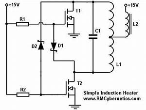gt circuits gt simple diy induction heater l49687 nextgr With home images simple inductance bridge circuit diagram simple inductance