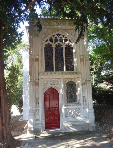 chapel   wood strawberry hill wikipedia