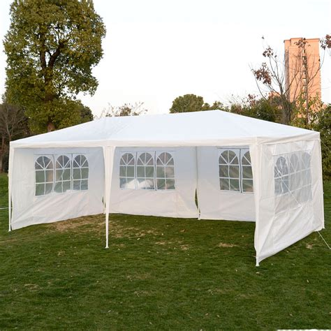 white party tent   sidewalls