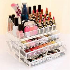 Rangement De Maquillage : organiseur de maquillage boite de rangement cosmetique achat vente coffret cadeau beaut ~ Melissatoandfro.com Idées de Décoration