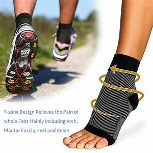 Plantar Fasciitis Compression Socks Foot Arch Support Heel