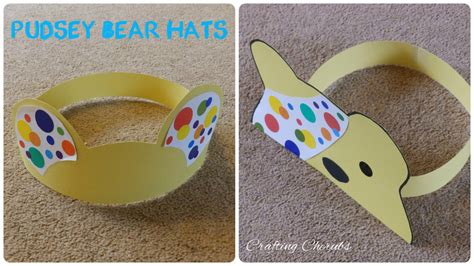 pudsey bear hat crafts