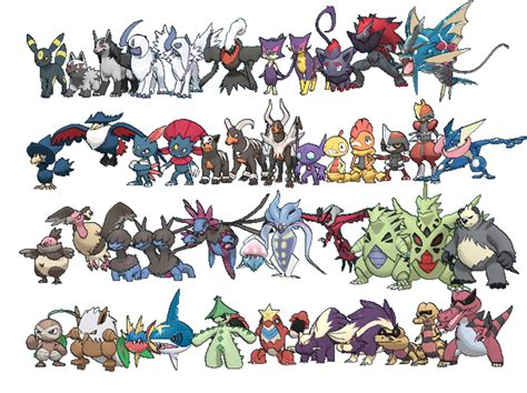 pokemon tipo dark