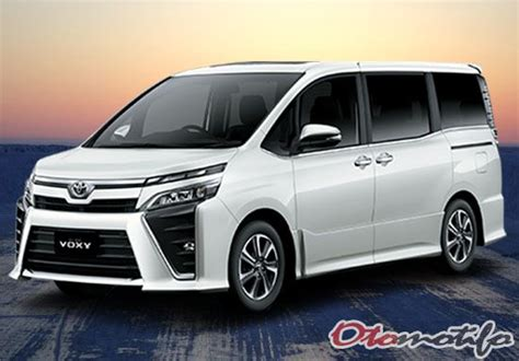 Gambar Mobil Toyota Voxy by Harga Toyota Voxy 2018 Review Spesifikasi Gambar