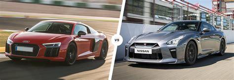 Audi R8 Vs Nissan Gt-r Supercar Comparison