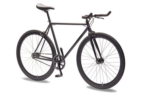 black cycling matte black single speed bike fixed gear bicycles