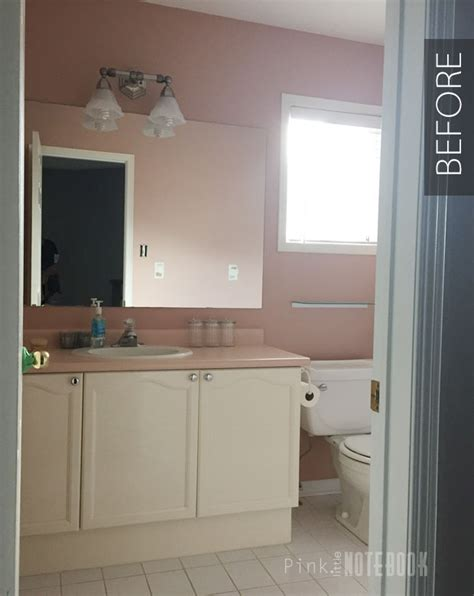 Diy Small Bathroom Makeovers by Diy Bathroom Makeover On A Budget Pink