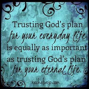 Gods Plan Religious Quotes. QuotesGram