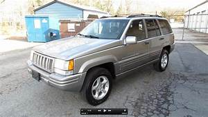 1998 Jeep Grand Cherokee 5 9 Limited Start Up  Exhaust  In