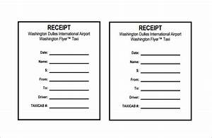 Receipt template 122 free printable word excel pdf for Limo receipt template