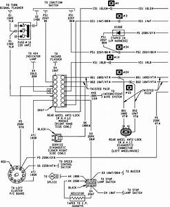 1989 Dodge Dakota Was Redone But The Wiring To The Various Brake Sensors Was Incorrect  I Need