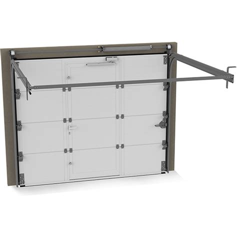 porte de garage avec portillon 224 cassettes veine de bois avec portillons int 233 gr 233 porte