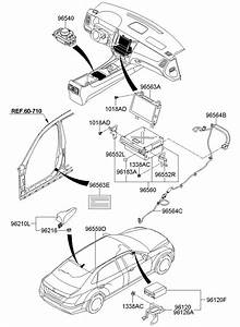 965643n010 - Hyundai Cable  Antenna  Assembly