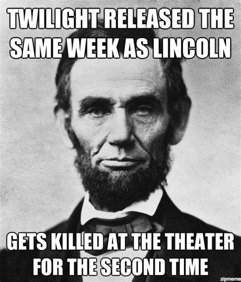 Lincoln Meme - the last few members of an endangered species huddling together as they try to survive funny
