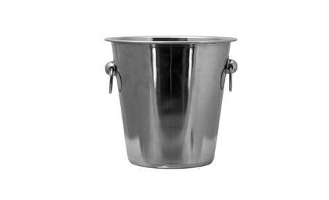 Keep Your Drinks Cool In This Stainless Steel Ice Bucket