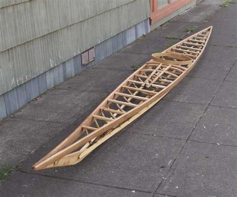 replica west greenland kayak frame baydarka kayaki kayaking