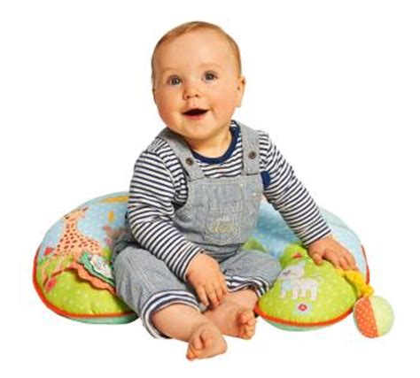 age position assise bebe vulli fresh touch la girafe coussin duo eveil et repos fr b 233 b 233 s pu 233 riculture