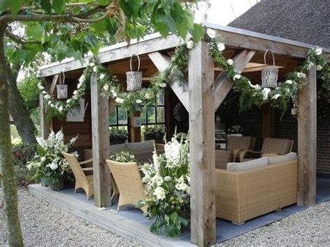 Diy Pergola  Get Yourself An Outdoor Living Room  Cozy Diy