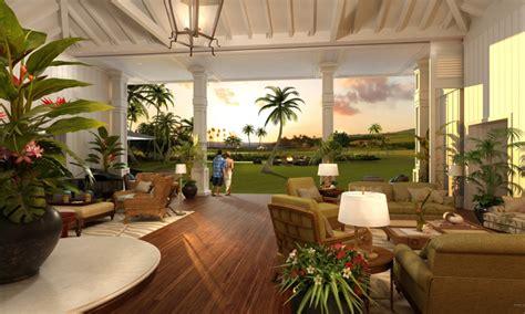 hawaiian plantation house plans hawaiian plantation style polynesian style homes treesranchcom