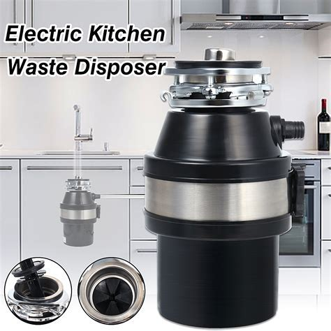 370W 220V Waste Disposer Food Garbage Sink Disposal