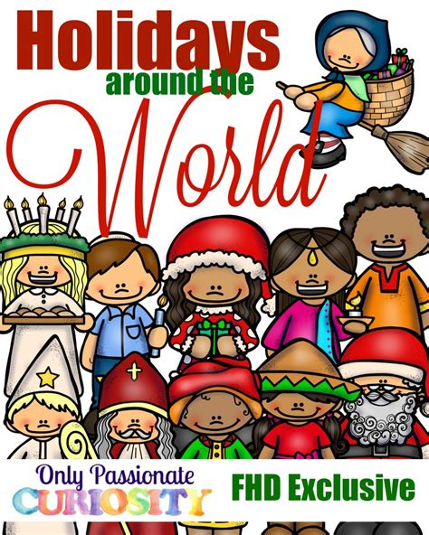 free holidays around the world pack instant 428 | Holidays around the World 819x1024