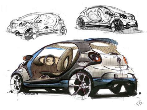 smart forjoy concept design sketch gallery car body design