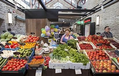 Market Tallinn Estonia Balti Turg Baltic Jaama