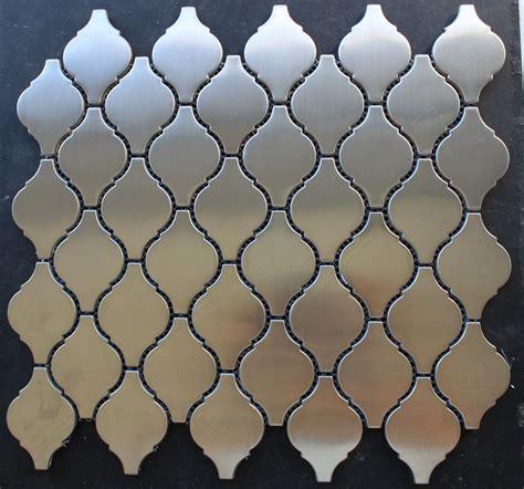 lantern tile quot lantern quot stainless steel mosaic tile backsplash tiles kitchen bar wall tiles ebay