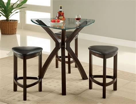 Dining Table With Stools by Triangle Dining Table A Set Of Convenience Within