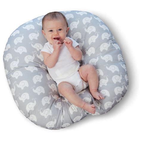 Boppy Baby Chair Elephant Walk Gray by Boppy 174 Elephants Newborn Lounger Target