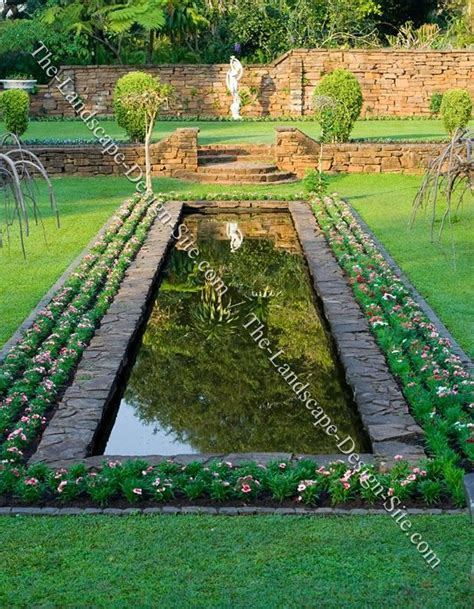 Formal Garden Pond  Don't Throw In The Trowelgardening