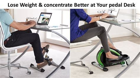 desk cycle weight loss lose weight concentrate better at your desk cycle youtube