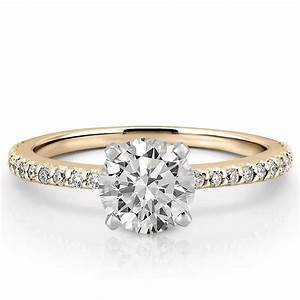 dainty engagement ring petite diana engagement ring do With wedding rings pic