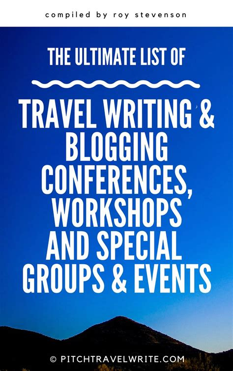 travel writing workshops