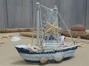 Maritime Deko Fürs Bad : fischerboot aus holz mit fangnetz bad deko 12 5x12cm ~ Sanjose-hotels-ca.com Haus und Dekorationen