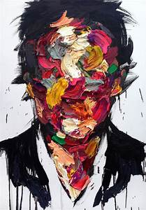 Striking Abstract Portraits that Eerily Express Human Emotions