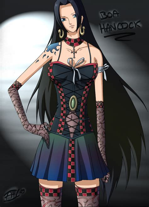 gothic boa hancock  piece picture anime wallpapers zone