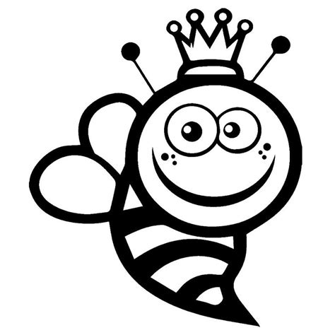 cm queen bee funny vinyl car stickers personalized car  motorcycle body decals black