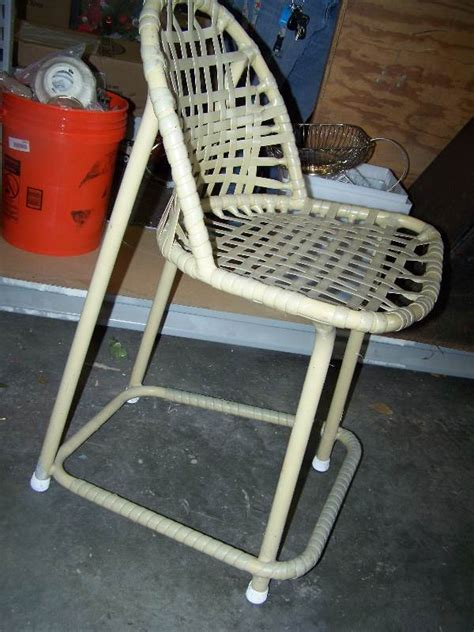 plastic woven outdoor chair 21 quot seat height great