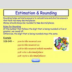 Numeracy Help 1 Estimation & Rounding 2 Order Of Operations  Ppt Video Online Download