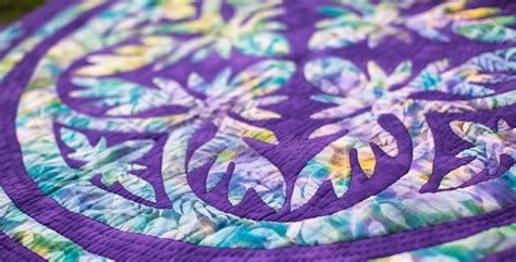 Quilting Applique Patterns by Pacific Quilt Company Hawaiian Applique Quilt