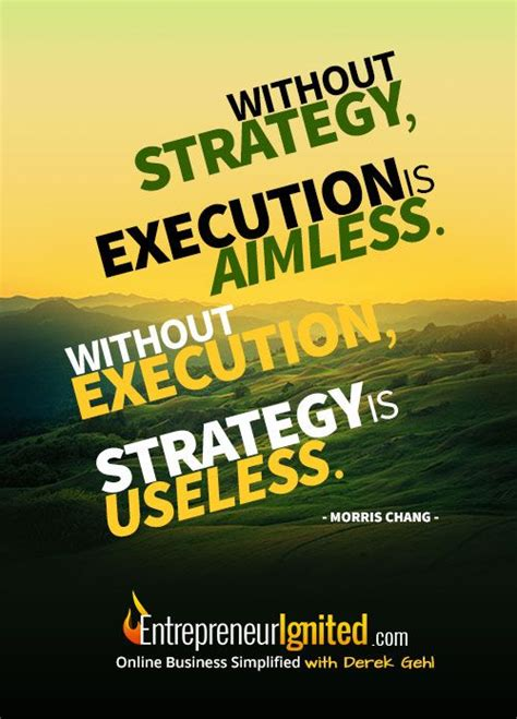 strategy execution  aimless  execution