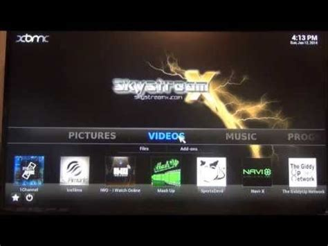 Box TV Android Skystreamx