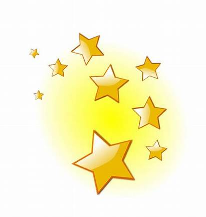 Star Stars Clip Clipart Twinkle Cluster Royalty